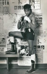 Michael Olajide boxer