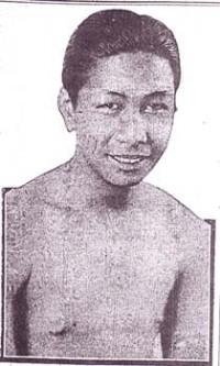 Joe Calder boxer