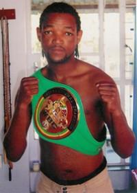 Tshepo Lefele boxer