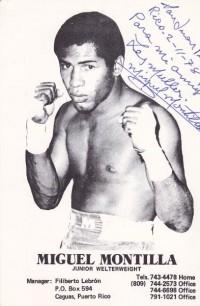Miguel Montilla boxer