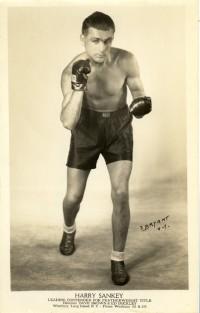 Harry Sankey boxer