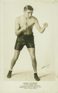 Vince Dundee boxer