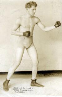 Battling Levinsky boxer