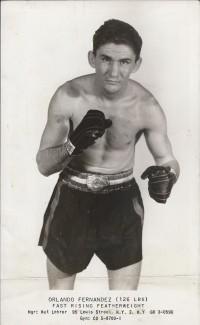 Orlando Fernandez boxer