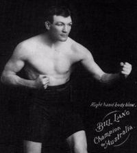 Bill Lang boxer