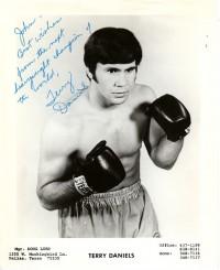Terry Daniels boxer