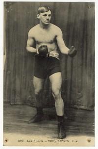 Willie Lewis boxer