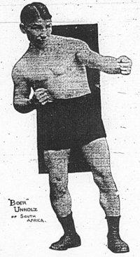 Rudy Unholz boxer