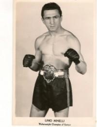 Livio Minelli boxer