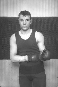 Young Ahearn boxer