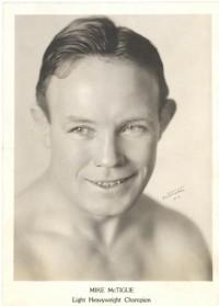 Mike McTigue boxer