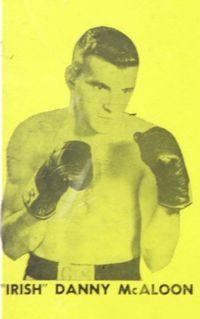 Danny McAloon boxer