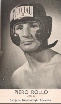 Piero Rollo boxer
