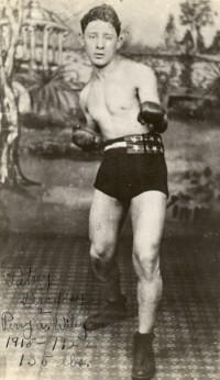 Pat Bradley boxer