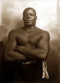 Battling Jim Johnson boxer