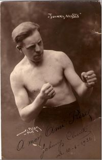 Johnny Cludts boxer