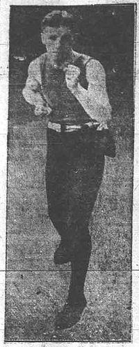 Frankie Fleming boxer