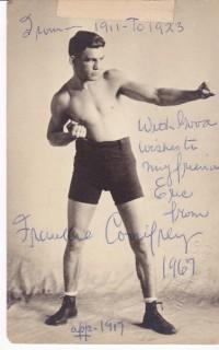 Frankie Conifrey boxer