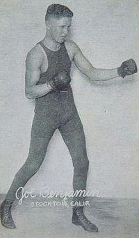 Joe Benjamin boxer