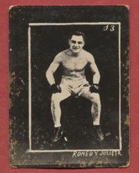 Frankie Britt boxer
