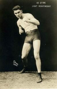 Ad Stone boxer