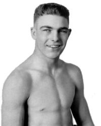 Young Stribling boxer
