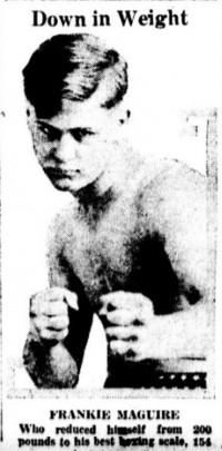 Frankie Maguire boxer