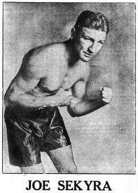 Joe Sekyra boxer