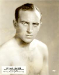 Armand Emanuel boxer