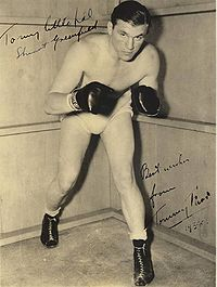 Tommy Farr boxer