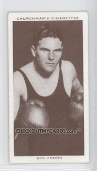 Ben Foord boxer