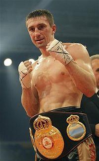 Vyacheslav Senchenko boxer
