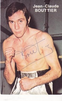 Jean Claude Bouttier boxer