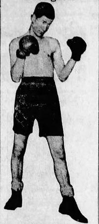 Ernie Bailey boxer