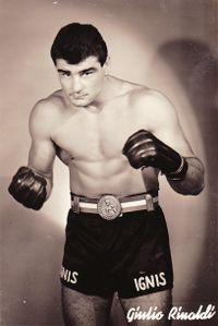 Giulio Rinaldi boxer