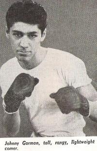 Johnny Gorman boxer