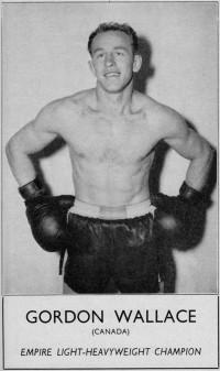Gordon Wallace boxer