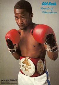 Bashew Sibaca boxer
