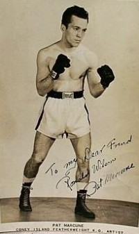 Pat Marcune boxer