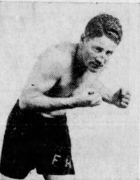 Frankie Hughes boxer