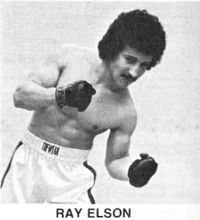 Ray Elson boxer
