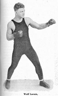 Wolf Larsen boxer