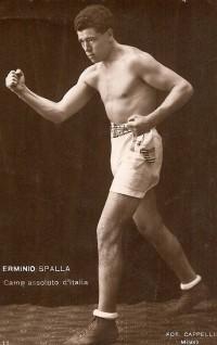 Erminio Spalla boxer