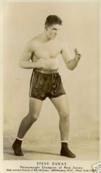 Steve Dudas boxer