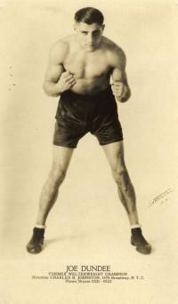 Joe Dundee boxer