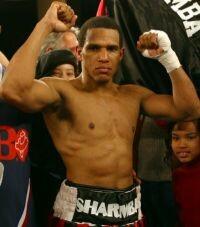 Sharmba Mitchell boxer