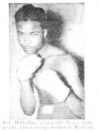 Bobby McQuillar boxer