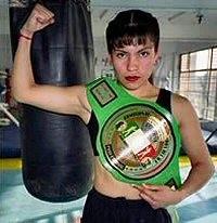 Ana Maria Torres boxer