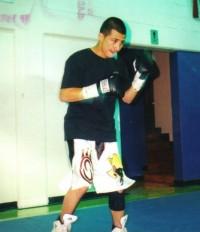 Roger Gonzalez boxer