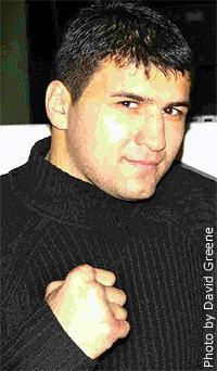 Timur Ibragimov boxer
